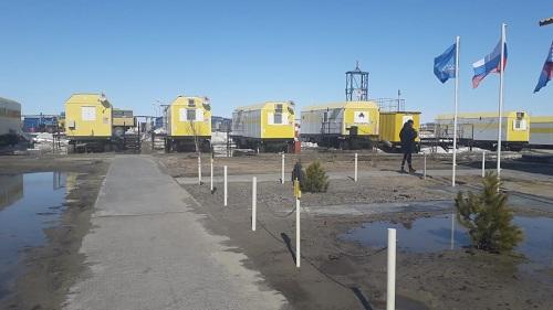 АО «Тюменнефтегаз» вагон городок на месторождение