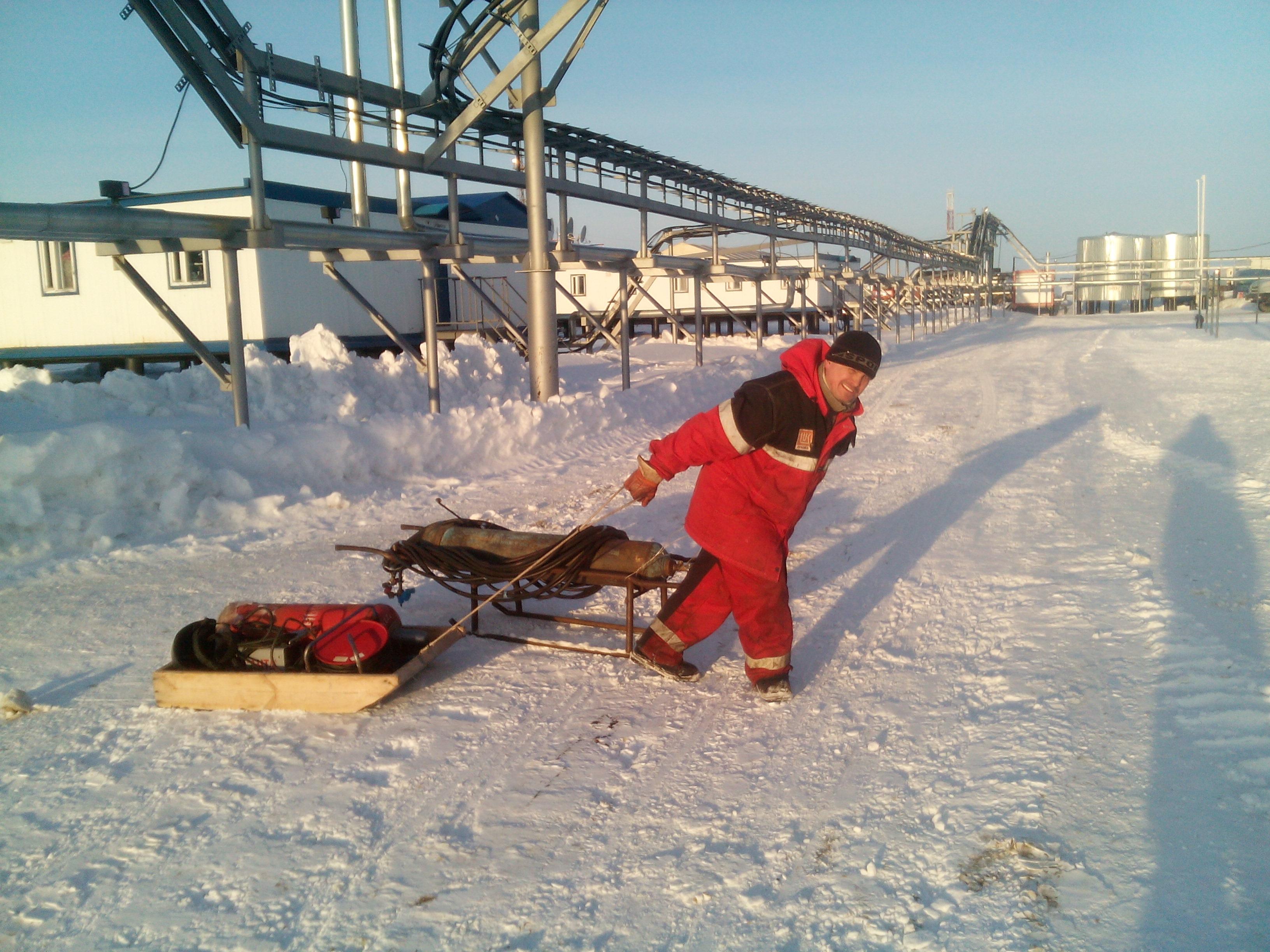 Лукойл Западная Сибирь Пякяхинское месторождение саарщик